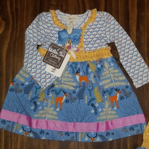 861e04920 Matilda Jane Dresses   Deer Dress 612 Months   Poshmark